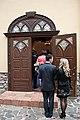 Екуменiчна церква в Мукачеві. Вхід.jpg