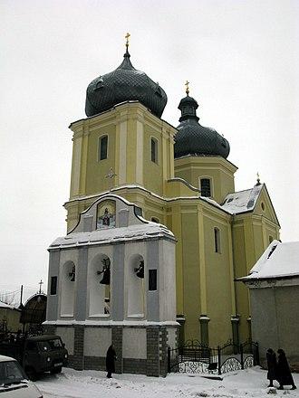 Zbarazh - Image: Збараж Воскресенська церква