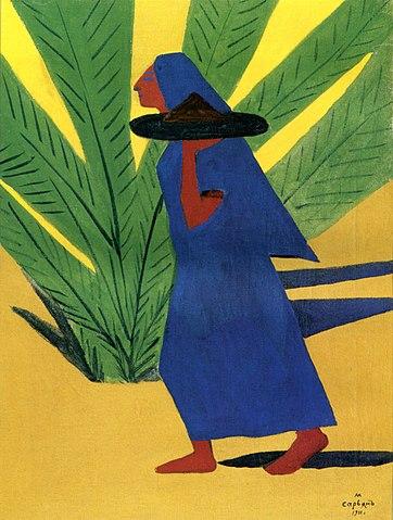 «Идущая женщина», 1911