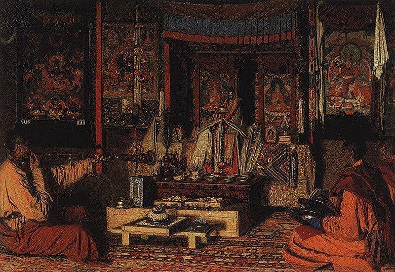 Калмыцкая молельня, 1869-1870