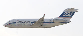 Tupolev Tu-334 - At the 2007 MAKS Airshow