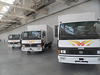 Tata Motors - Tata LPT Trucks made at overseas plants