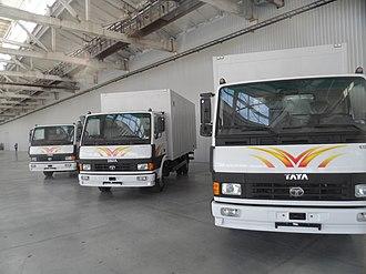 Tata Motors - Tata LPT Trucks made at overseas plants