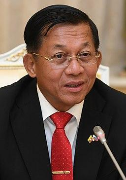 Min Aung Hlaing Military ruler of Myanmar