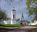 Москва. Коломенское. Георгиевская колокольня и Передние ворота..jpg