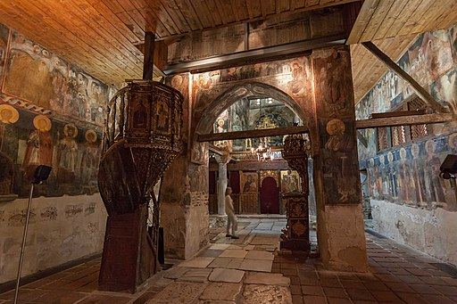 Несебыр Церковь Св Стефана Интерьер