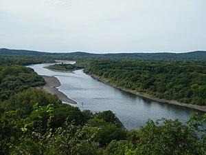 Ussuri River - The Ussuri River near Gornye Klyuchi