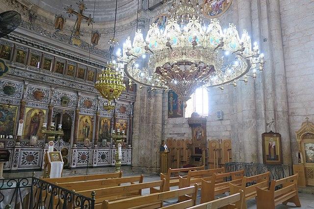 Храм Святого великомученика Георгия Победоносца в Лидде (Израиль) 2016