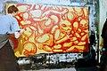 Художник Джамалетдинов на международном фестивале граффити на Дворцовой площади в Петербурге в 1998 (2).jpg