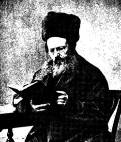 רבי ישכר בעריש גרויברט