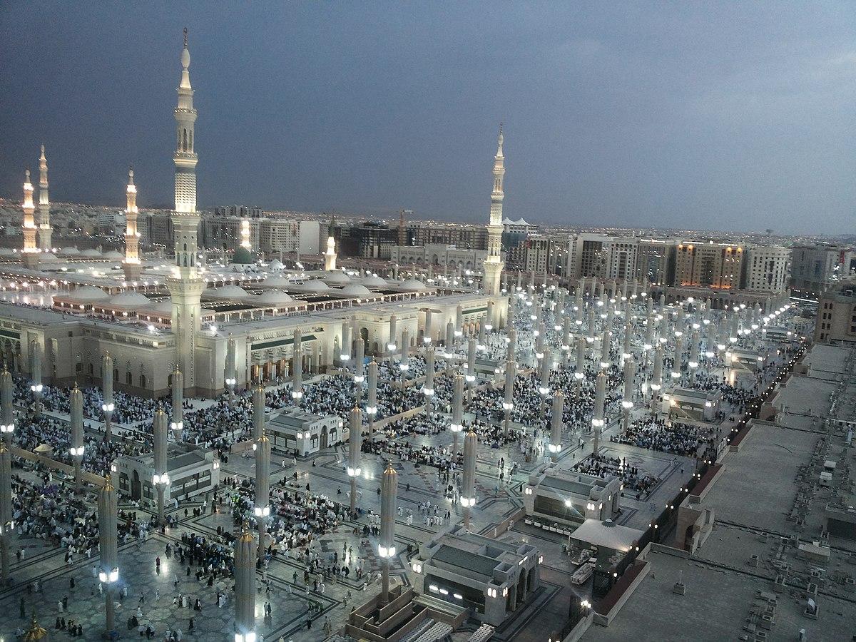 Moscheea Profetului Din Medina Wikipedia