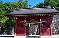 今宮郊戸八幡宮の随神門 飯田市にて 2014.9.09 - panoramio.jpg