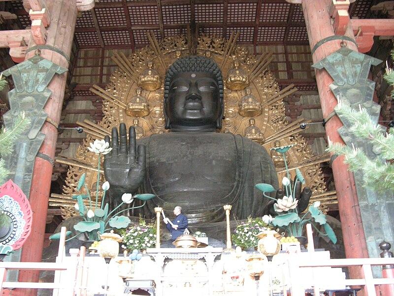 Файл:大仏 (Daibutsu) Il grande Buddha, 奈良 (Nara).jpg
