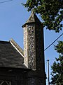 -2018-09-29 Turret on Antingham and Southrepps primary school, Southrepps.JPG