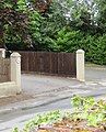 -2020-06-08 Front gate of Beechlands, Clipped Hedge Lane, Southrepps.JPG