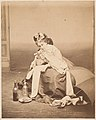 -Album page with ten photographs of La Comtesse mounted recto and verso- MET DP235110.jpg