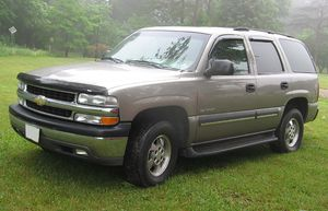 2003 Chevrolet Tahoe photographed in USA.
