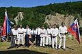 02014 Die Feuerwehrmänner aus Slovakei (Vintage) Rudawka Rymanowska.JPG