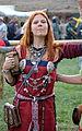02015 0029 Mittelalter Kleidung für Wikingerfrauen, Beskiden.JPG