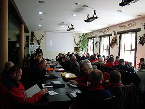 Karol Świerczewski - Popular scientific conference on Karol Wacław Świerczewski in Stężnica in Gmina Baligród