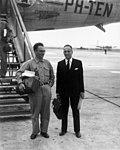 07-25-1947 02243 Frans Goedhart en Piet Sanders (5785689739).jpg