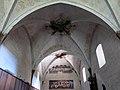088 Sant Jeroni de la Murtra, refetor, sostre de volta.JPG