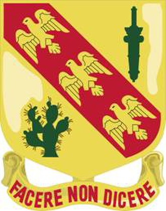 107th Cavalry Regiment - Image: 107th Cavalry Distinctive Unit Insignia