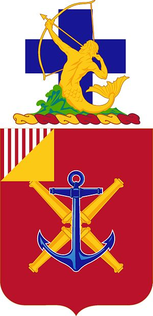 10th Coast Artillery (United States) - Image: 10th AAA Bn coa