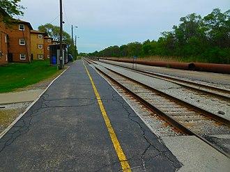 123rd Street – Blue Island (Metra station) - Image: 123rd Street Blue Island station