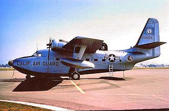 129th Rescue Squadron - 129th ACS SA-16A Albatross 51-0025, about 1965