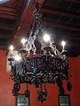 131 Castell de Santa Florentina (Canet de Mar), menjador de la família, salamó.JPG
