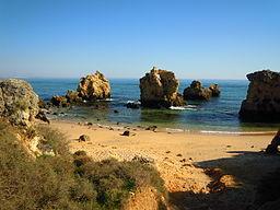 Praia dos Arrifes, The Algarve, Portugal