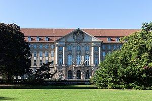 Kammergericht - Kammergericht building, view from Kleistpark