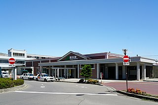 Okaya Station railway station in Okaya, Nagano Prefecture, Japan