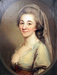 Porträt der Elisa von der Recke von Josef Friedrich August Darbes (1784; Märkisches Museum, Berlin) (Quelle: Wikimedia)
