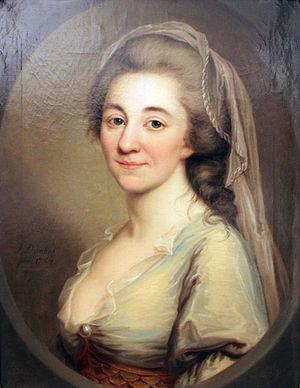 Elisa von der Recke - Image: 1784 Darbes Elisa von der Recke anagoria