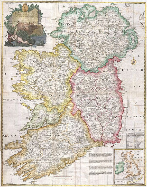 File 1794 Rocque Wall Map Of Ireland Geographicus