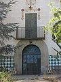 185 Can Creus (Premià de Dalt), camí de Can Creus 11, detall de la façana.jpg