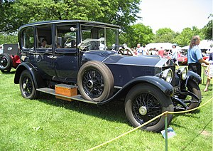 Rolls-Royce Silver Ghost - 1920 Silver Ghost with limousine coachwork