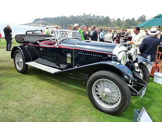 Bentley 4½ Litre - 1929 4½ Litre with original Thrupp & Maberly four seat coachwork