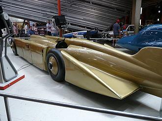 Golden Arrow (car) - The Irving-Napier Golden Arrow at the National Motor Museum, Beaulieu