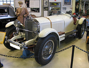 Karl Ebb - Ebb's Mercedes-Benz SSK raced in the 1930s