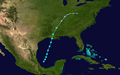 1932 Atlantic tropical storm 6 track.png