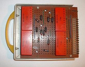 Veroboard - 1961 Veroboard unit - components