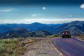 1969 Xe Reo của qsự của Mỹ trên đỉnh đèo An Khê (9677368187).jpg