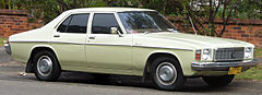 1976-77 Holden HX Kingswood sedan