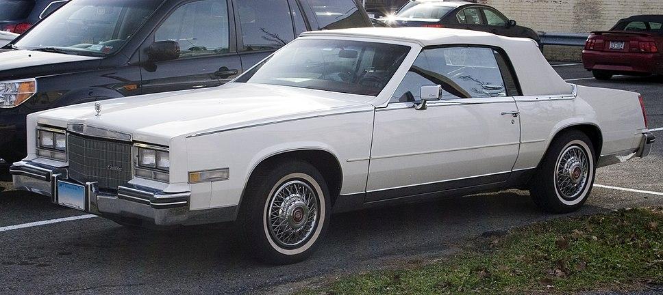 1984-85 Eldorado Convertible