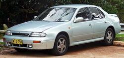 1993–1995 Nissan Bluebird (U13) SSS sedan (Australia)