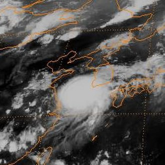 1994 Pacific typhoon season - Image: 1994 Brendan peak