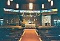 1996 St. John Vianney Church interior - Bettendorf, Iowa.jpg